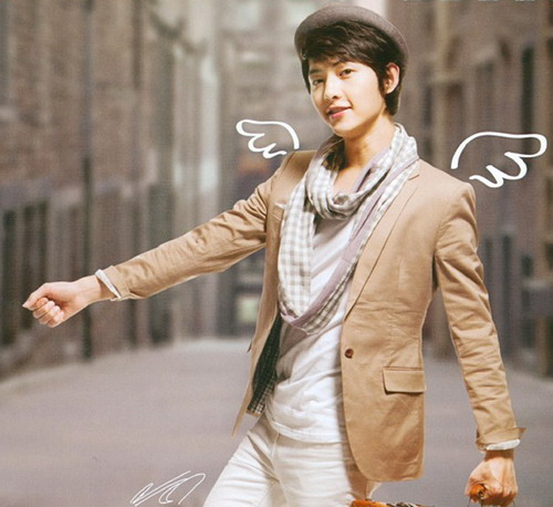 Song Joong Ki Girlfriend �song joong ki's wings�.